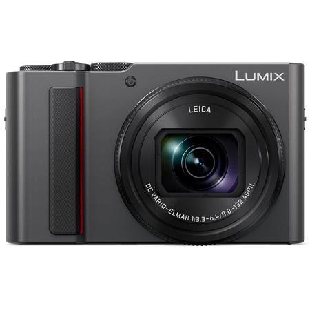 Lumix DMC-ZS200 Digital Point & Shoot Camera, Silver