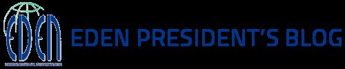 EDEN President's Blog