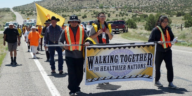 HHS Blog: Native Americans Walk to the Four Corners to Fight Diabetes