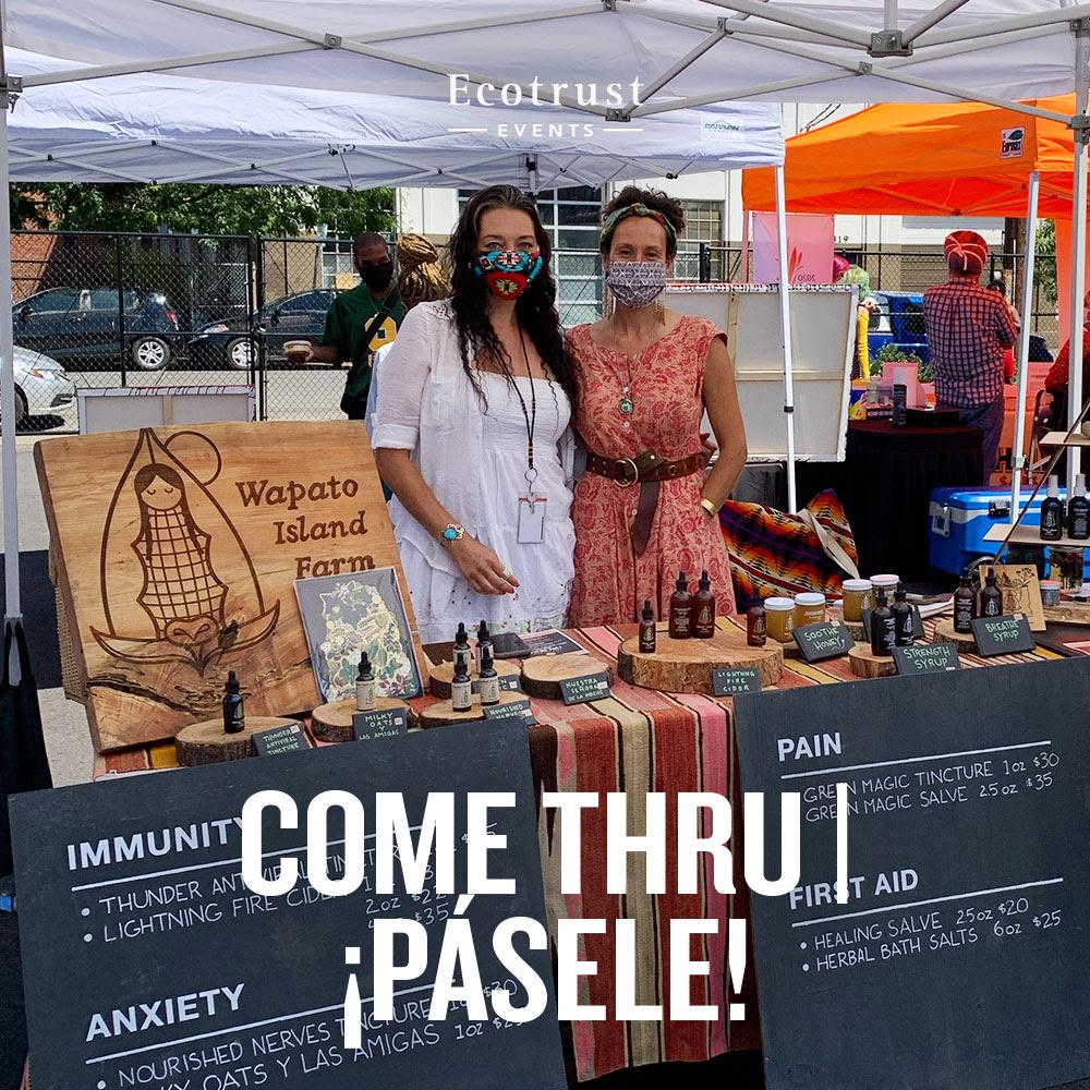 Ecotrust Events | Come Thru | ¡Pásele!: Wapato Island Farm at Come Thru market