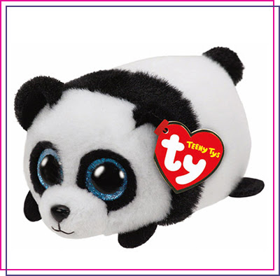 TY Teeny Puck the Panda Soft Toy