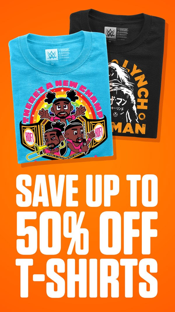 Up to 50% Off Select Tees