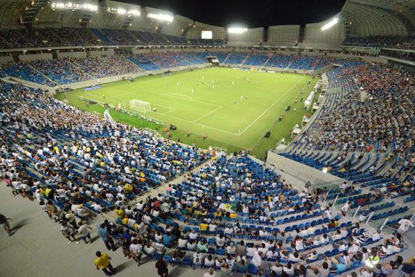 A Arena das Dunas vai sediar quatro jogos da Copa: Recrutadores buscam interessados em trabalhar na área de alimentos e bebidas