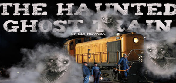 Haunted Ghost Train of Old Ely
