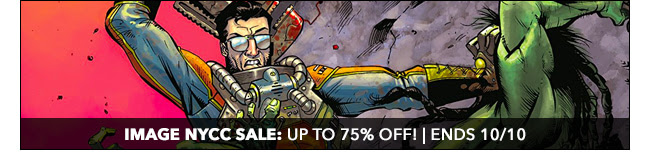 Image NYCC Sale: up to 75% off! | Ends 10/10