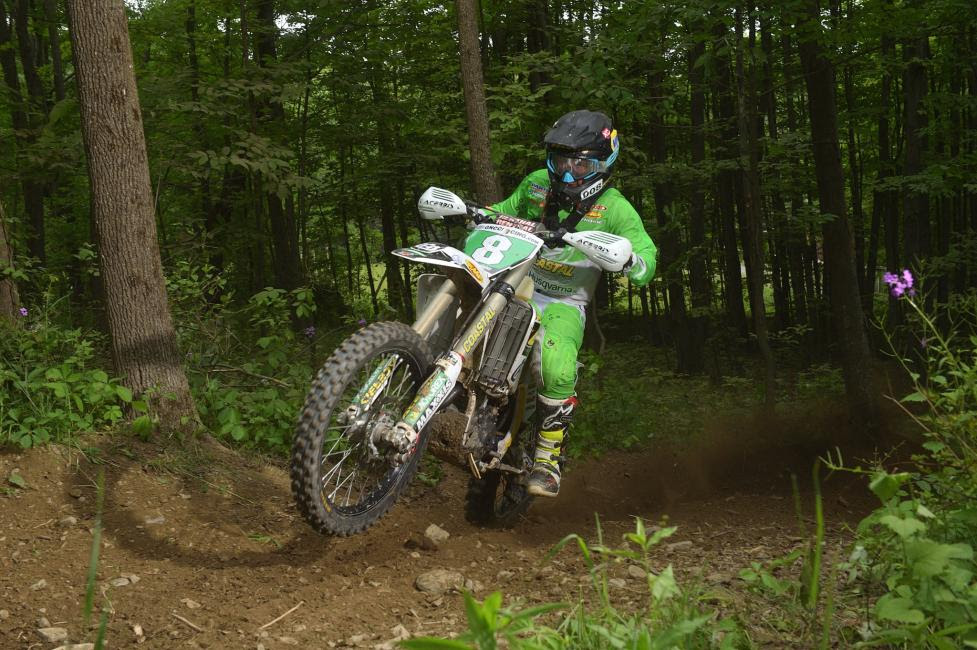 Craig Delong competes in the XC2 250 Pro class, and is hoping to earn his first win of the season in his home state of Pennsylvania.