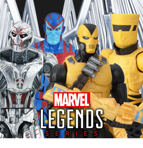 MARVEL LEGENDS SDCC REVEALS