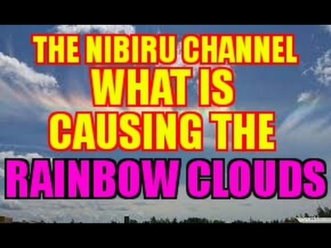 WHAT IS CAUSING THE RAINBOW CLOUDS SEEN AROUND THE WORLD?  Hqdefault