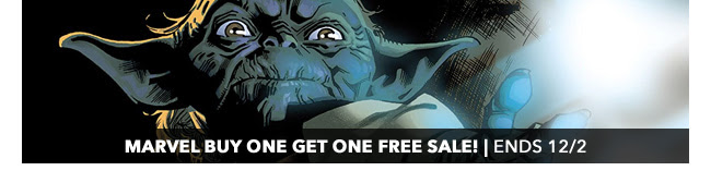Marvel Buy One Get One Free Sale! | Ends 12/2