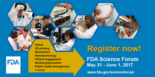 Register for the FDA Science Forum today!