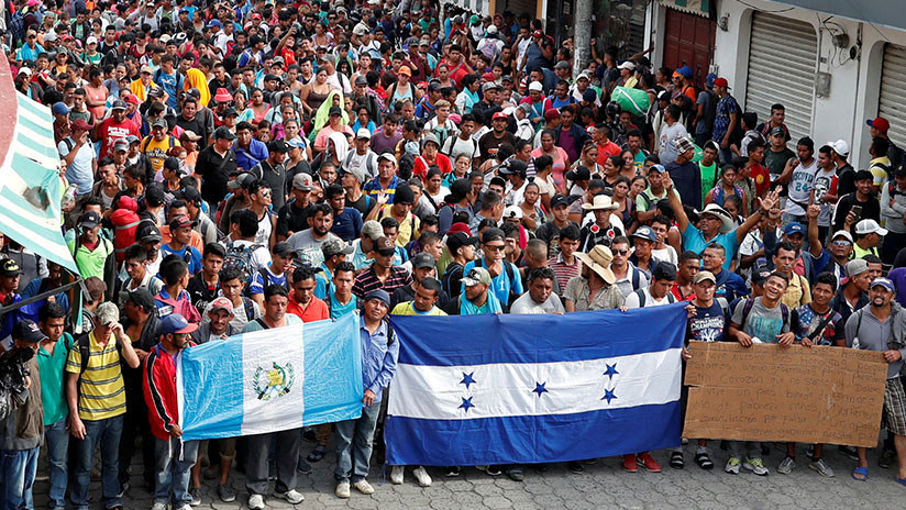 EE.UU. desplegará 5.000 militares en la frontera con México para frenar la caravana de migrantes