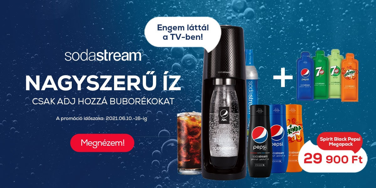 Sodastream Pepsivel