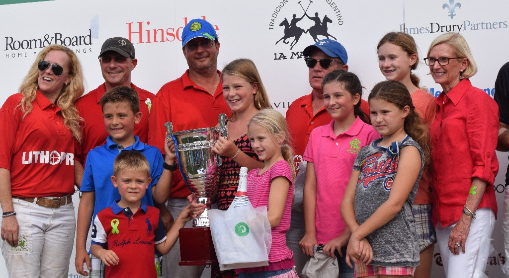 OAK BROOK POLO HELPS RAISE NEARLY $25K AT