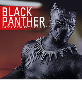 HOT TOYS CAPTAIN AMERICA: CIVIL WAR 1/6 BLACK PANTHER