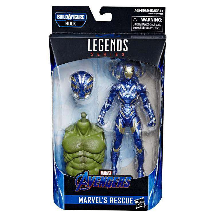 Image of Avengers: Endgame Marvel Legends Rescue (Hulk BAF) - Wave 2 - JULY 2019