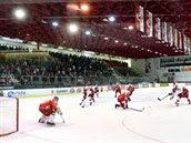 Hokejový stadion Slavie v Edenu