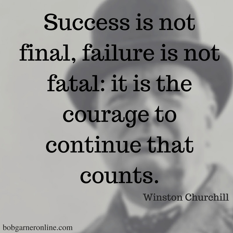 Image result for success is not final""
