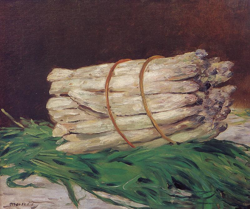 Image result for manet bunch of asparagus