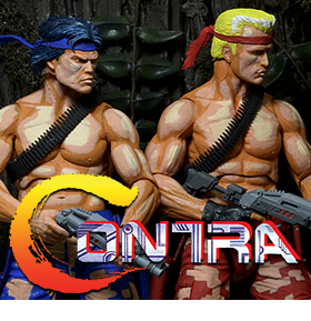 CONTRA ACTION FIGURE 2 PACK