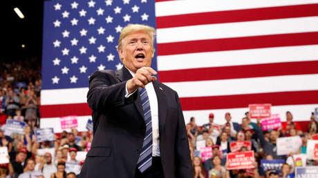 El presidente de EE. UU., Donald Trump en Billings, Montana, EE. UU., el 6 de septiembre de 2018.