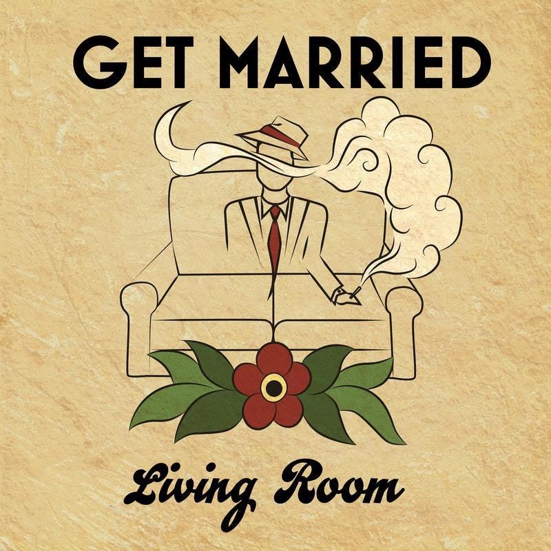 get married living room single