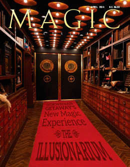 MAGIC Magazine April 2014 Cover