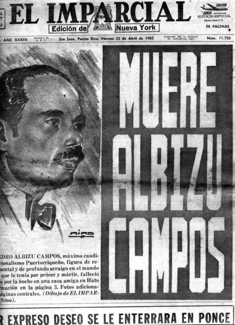 Muere-Albizu-Campos-El-Impacial