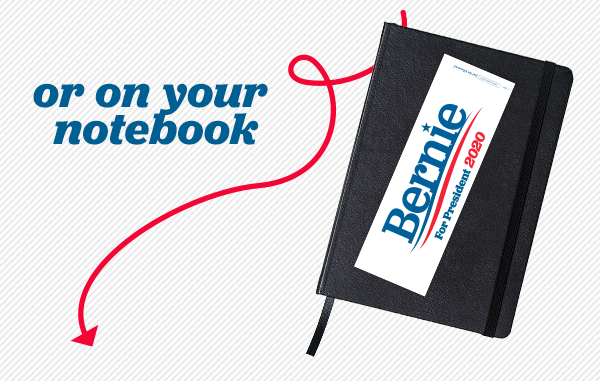 or on your notebook.