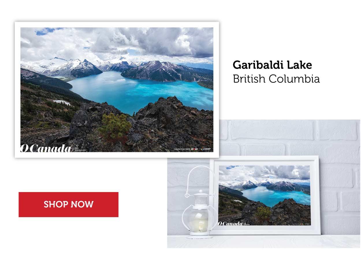 Garibaldi Lake Poster