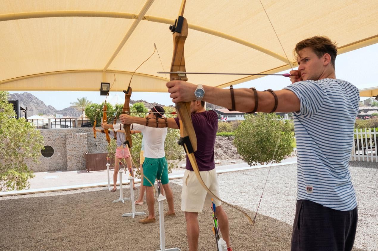 JA Hatta Fort Hotel - Archery.1