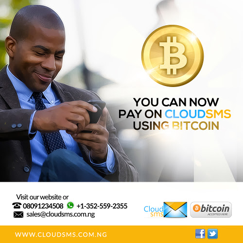 CloudSMS Bitcoin Image notice