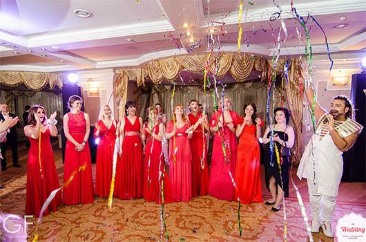 Команда Wedding.ua и Амадор Лопес