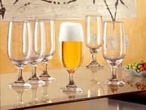 Conjunto de Taças de Vidro para Cerveja 6 Peças