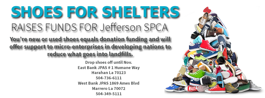 JSPCA Shoe Collection Drive!