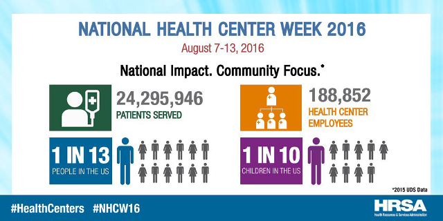National Health Center Week 2016