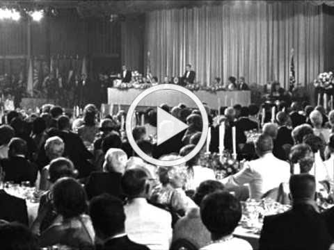 August 13, 1969 Presidential Dinner honoring the Apollo 11 astronauts [audio only]