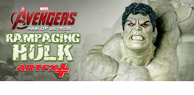 EXCLUSIVE AGE OF ULTRON RAMPAGING HULK ARTFX