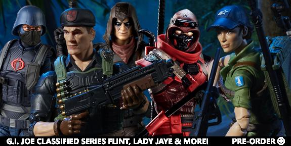 G.I. Joe Classified Series Flint, Lady Jaye & More!