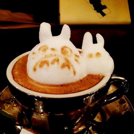 3D Latte by Kazuki Yamamoto
