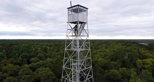 A group is working to save the 100-foot Gordon Fire Tower in Douglas County.