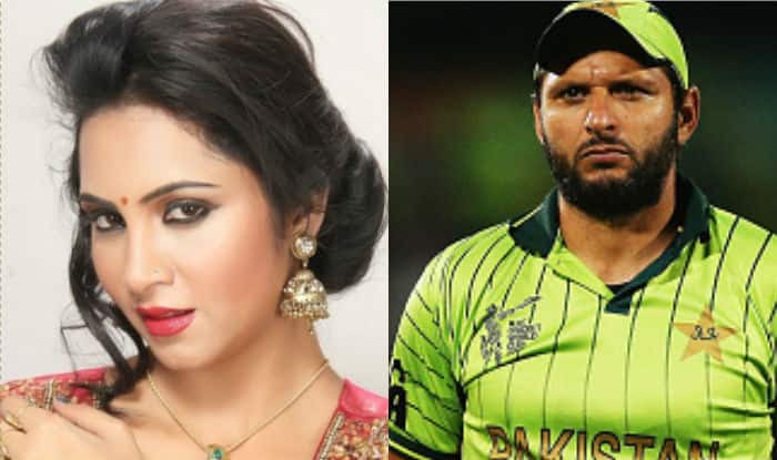 Image result for arshi khan shahid afridi