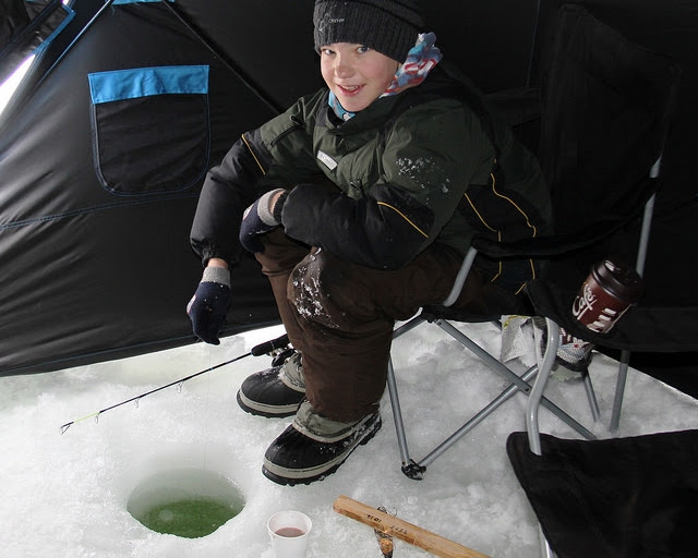 Ice Fishing in Alberta Parks
