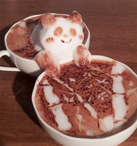 Coffee Sculpture by Kazuki Yamamoto