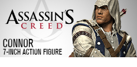 "ASSASSIN'S CREED III 7"" CONNOR FIGURE"