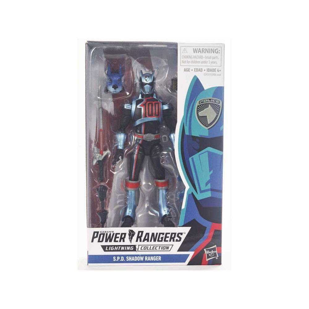 Image of Power Rangers S.P.D. Lightning Collection Shadow Ranger