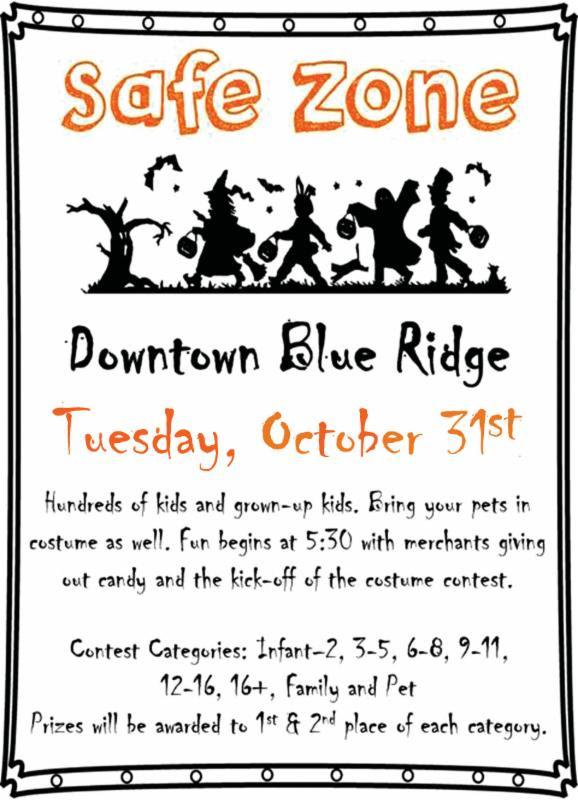 Safe Zone Blue Ridge