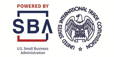 SBA Logo and US International Trade Commission Logo