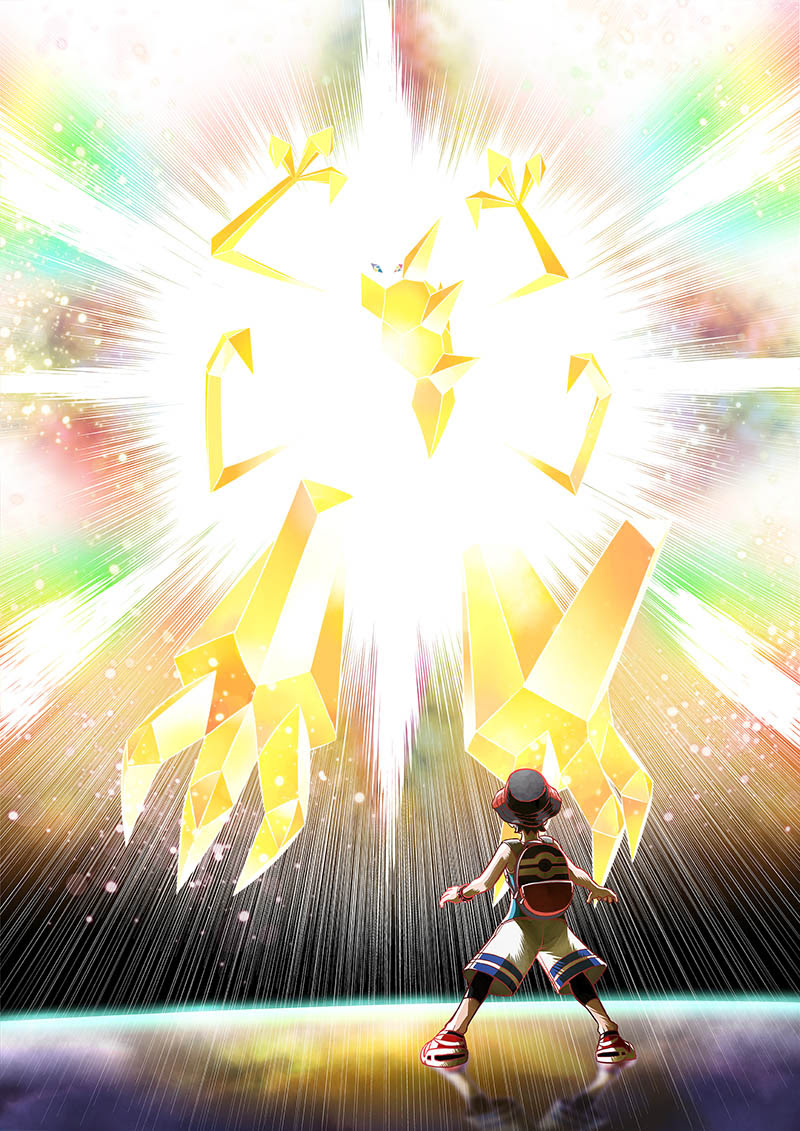 Pokémon Ultrasol y Pokémon Ultraluna.