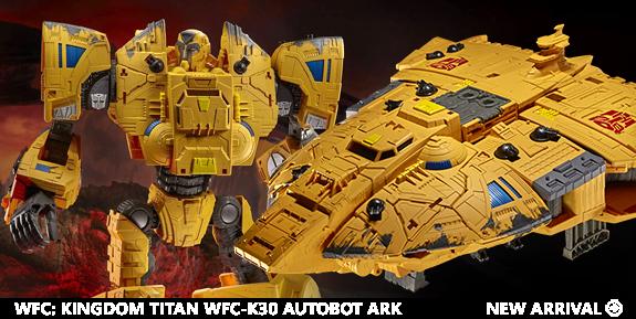 Transformers War for Cybertron: Kingdom Titan WFC-K30 Autobot Ark