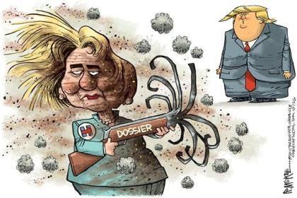 Clinton dossier trump